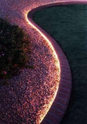 éclairage allée de jardin