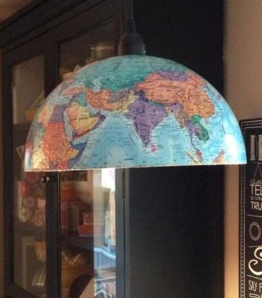 abat jour globe