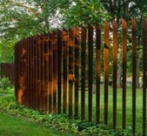 clôture métal