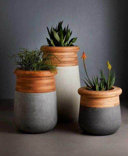 Pot de fleurs Laurie Wiid van Heerden